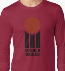 Retro Cricket Long Sleeve T-Shirt