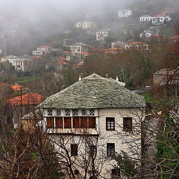 Traditional architecture of Pelion mountain by Cretense72