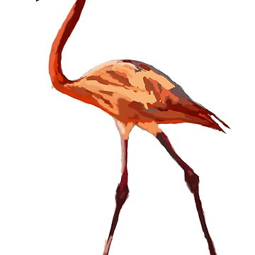 Pink Flamingo  by Manitarka