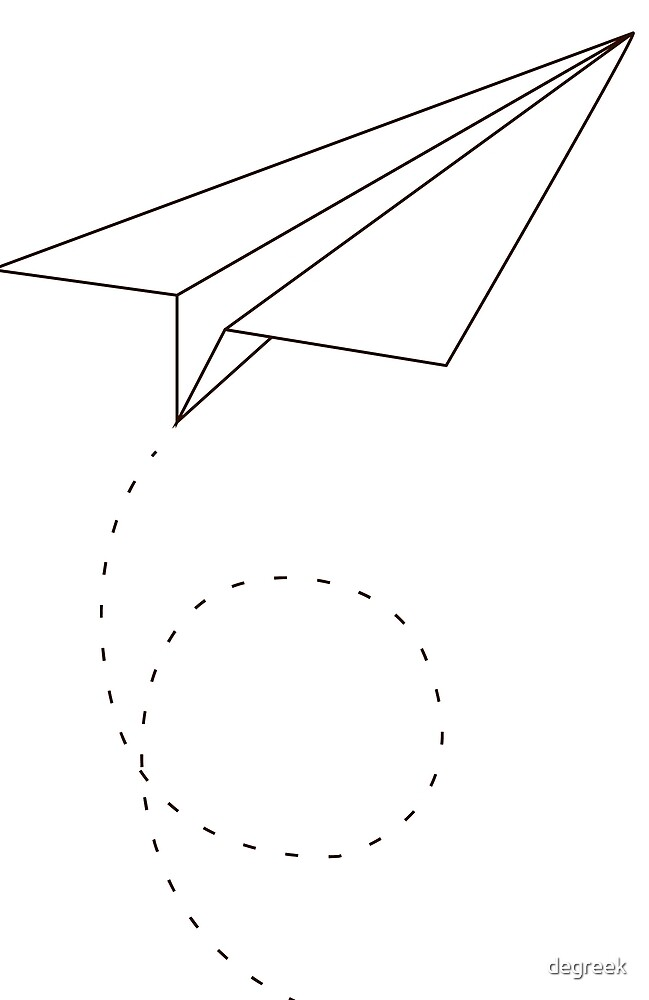 Paper Plane by degreek
