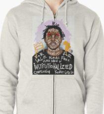 Kendrick Lamar Zipped Hoodie