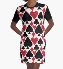 Casino Fun Graphic T-Shirt Dress