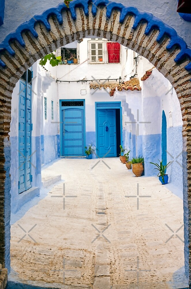 Gates of Chaouen by zouhair lhaloui