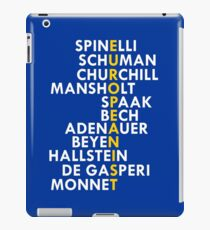 Founding Fathers of the European Union iPad Case/Skin