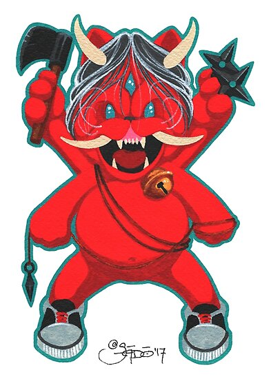 Karma Assassinslucky Oni Cat Vengeance Mode Posters By Sadostyle