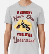 Motocross Shirt, Funny Motosport T-shirt Men's Premium T-Shirt