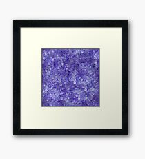 Colorful stone Framed Print