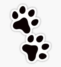 Paws sticker Sticker