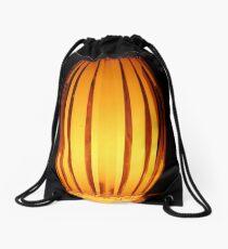 Golden Lamp Drawstring Bag