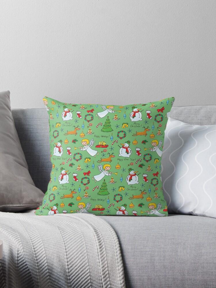 Christmas pattern by ValentinaHramov