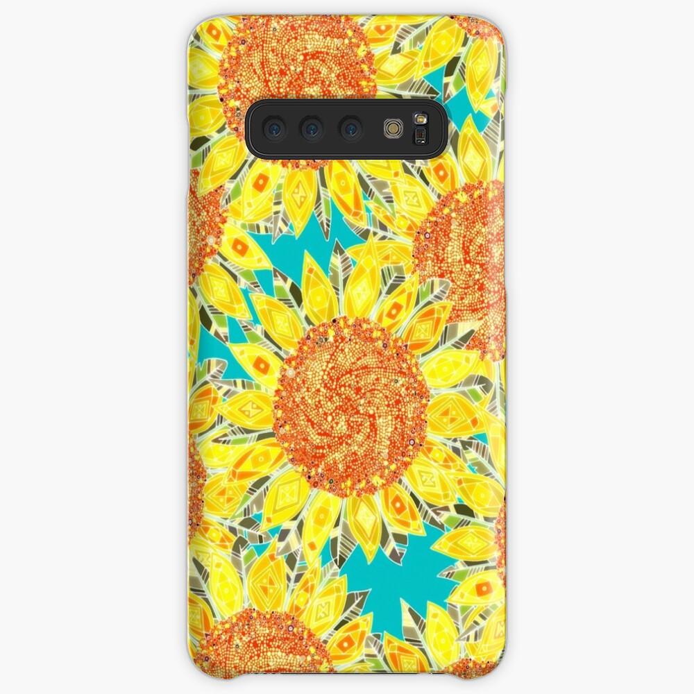 Sonnenblumenfeld Hüllen & Klebefolien für Samsung Galaxy