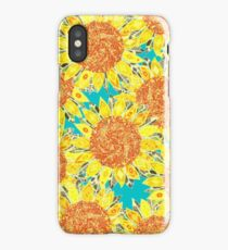 sunflower field iPhone Case/Skin