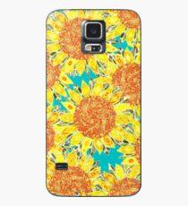 sunflower field Case/Skin for Samsung Galaxy
