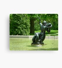 nymph statuary Canvas Print