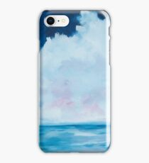 Cloudy skies over the Cliffs of Moher iPhone Case/Skin