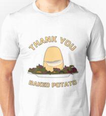 Thank You Baked Potato Unisex T-Shirt