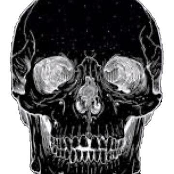 Skull Duvet #3 by PunkStickEmUp