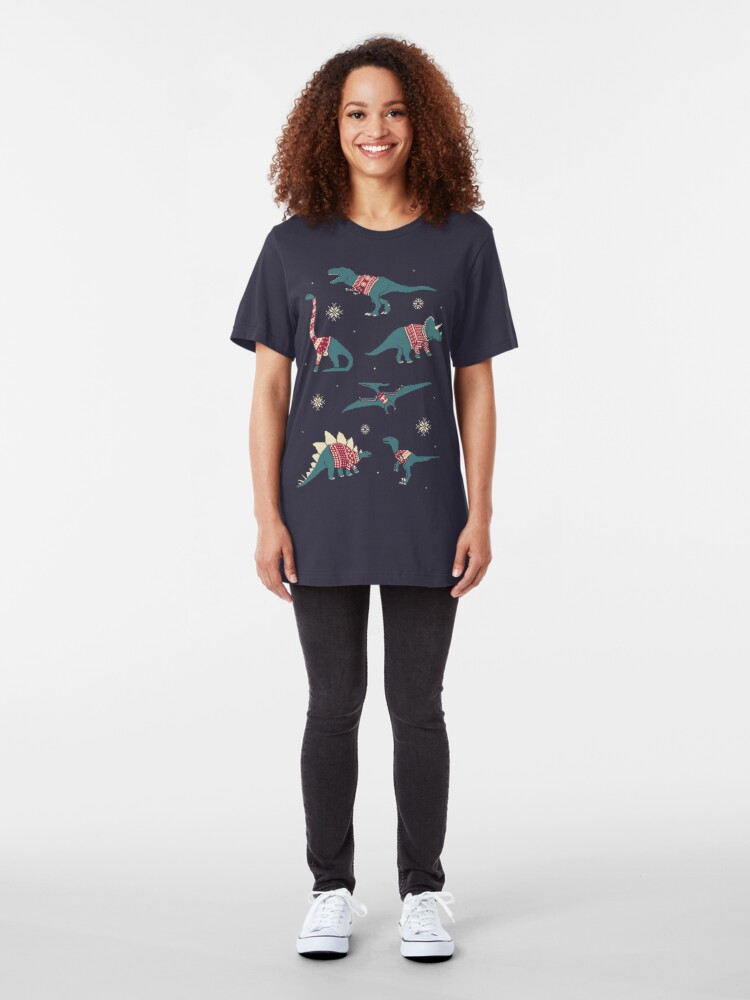 Alternate view of Dinos In Sweaters Slim Fit T-Shirt