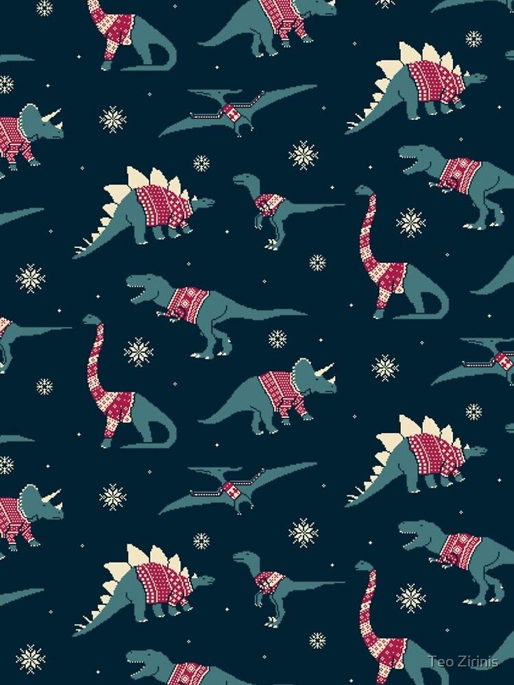 Dinos In Sweaters by theodorezirinis
