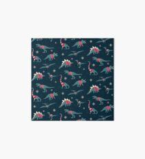 Dinos In Sweaters Art Board