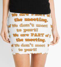 Meet 2 Part Mini Skirt
