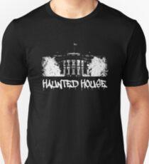 Haunted House. Halloween. White House T-Shirt