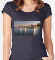 Cottesloe Beach, Perth, Western Australia Women's Fitted Scoop T-Shirt