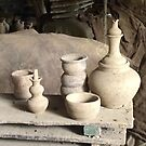 Rustic pottery by ccrcats