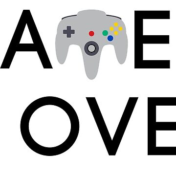 Game Over - N64 Controller by KipItSimple
