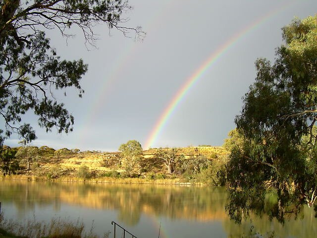 Gold at the end of the Rainbow  by GailNormington