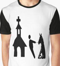 church man horse Graphic T-Shirt