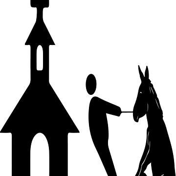 church man horse by alvarenga