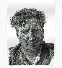 Brendan Behan - Irish Author Poster