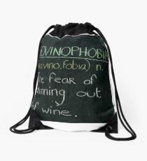 Novinophobia Drawstring Bag