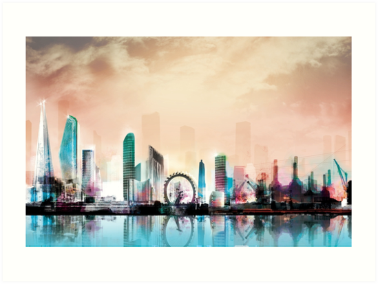 London city landscape thames by ol1ie