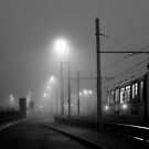 Fog at Deansgate by mikeosbornphoto