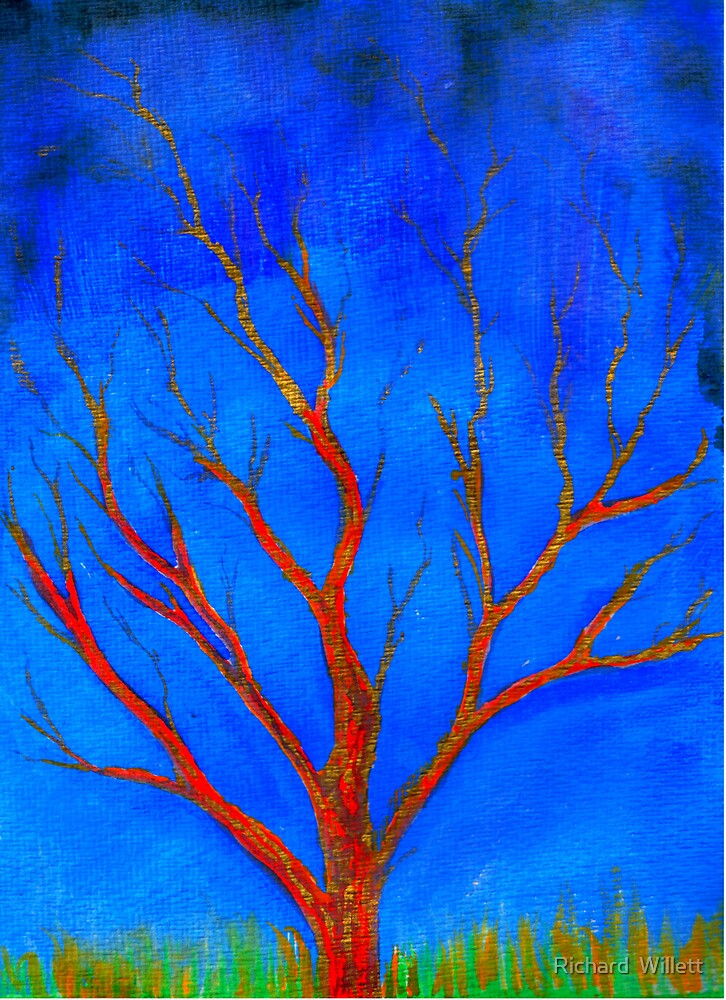 The Tree of Fire and Gold by Richard  Willett