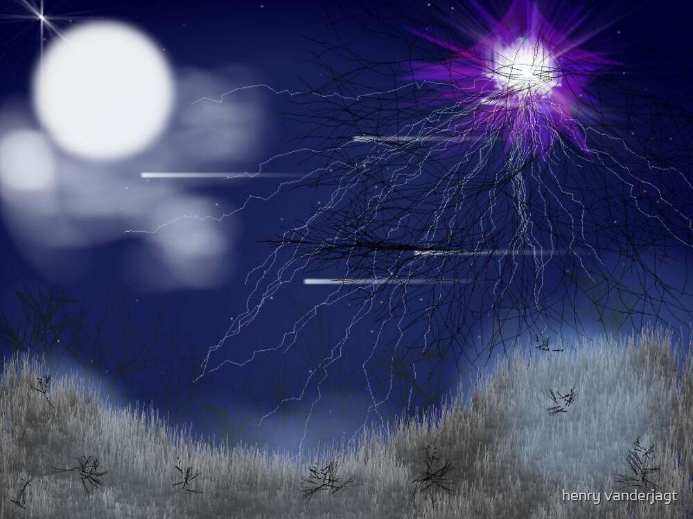 BLUE NIGHT STAR BRIGHT by Henry VanderJagt