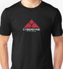 Cyberdyne Systems logo (White) Unisex T-Shirt