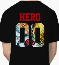 One Punch Man Saitama Hero Jersey Classic T-Shirt