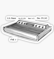 Game control console Patent US D251143 S Sticker