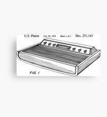 Game control console Patent US D251143 S Canvas Print