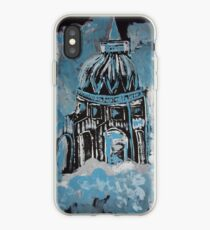 Temple in the clouds iPhone Case