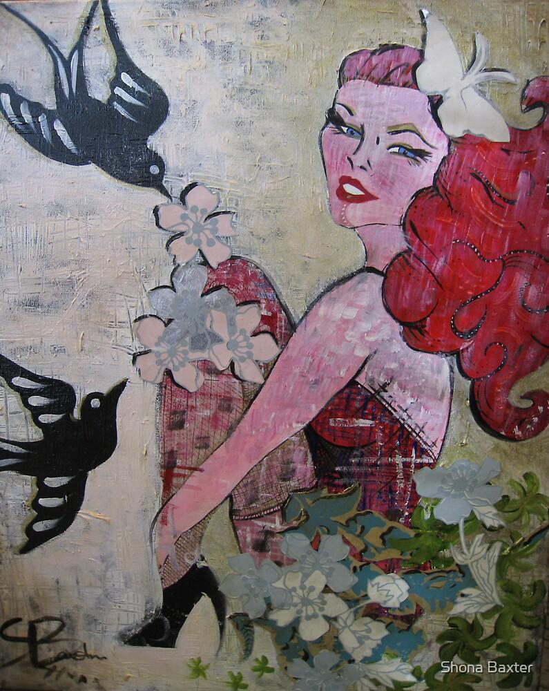 Blackbirds by Shona Baxter
