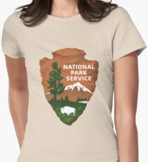 National Park Service Women's Fitted T-Shirt