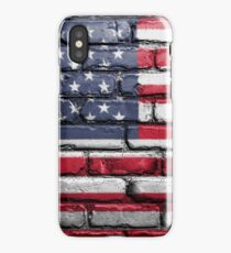 Stars and Stripes Wall iPhone Case/Skin