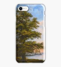 MARCUS LARSON, TREE BY THE SHORE iPhone Case/Skin