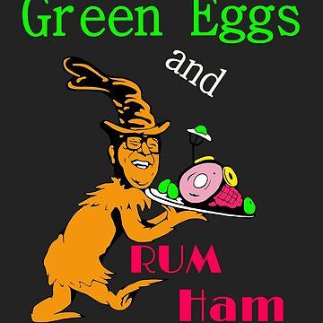 Green Eggs and Rum Ham by KaspirJones