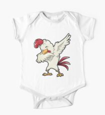 Dabbing Chicken Shirt Dab Dance Chickens Funny Farming Farm Poultry Gifts T-shirt for Farmers or Chicken Lovers Kids Clothes