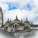 Cathedral Périgueux by DutchBeastie